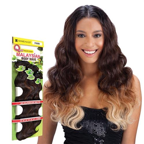 "Milky Way Que Human Hair Blend Malaysian Body Wave 7 Bundle (16"", 18"", 20"")"
