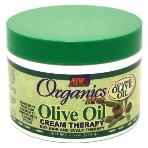Africa's Best Organics Olive Oil Dry Hair and Scalp Therapy, 7.5 oz