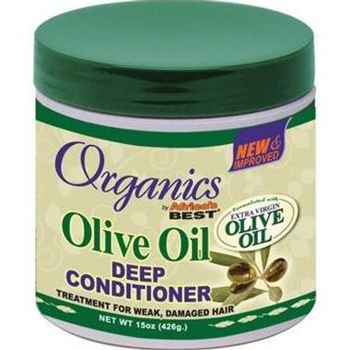 Africa's Best Organics Olive Oil Deep Conditioner- 15oz