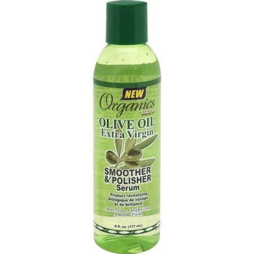 Africa's Best Smoother & Polisher Serum, Extra Virgin Olive Oil - 6oz