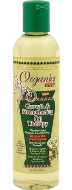 Africa's Best Organics Growth & Strengthening Argan Oil Treatment 8oz