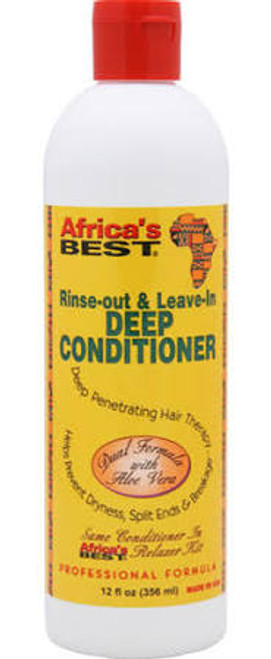 Africa's Best Rinse-Out & Leave-In Deep Conditioner 12oz