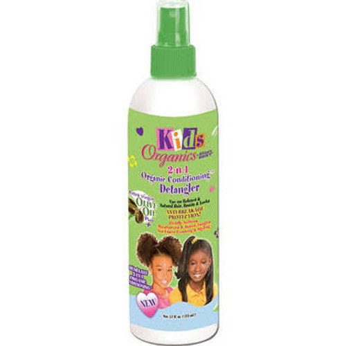 Africa's Best Kids Organics 2-n-1 Organic Conditioning Detangler 12oz
