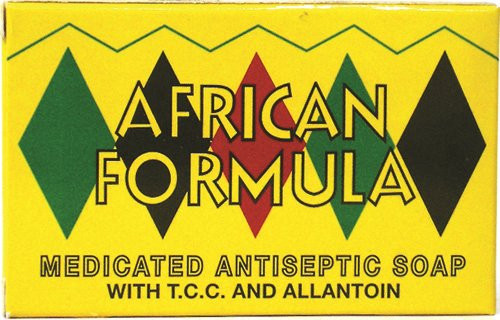 African Formula Medicated Soap 3 Oz,85g