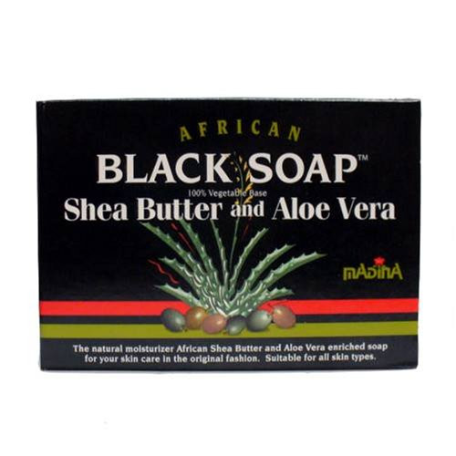African Formula Black Soap 3.5oz Shea Butter & Aloe Vera