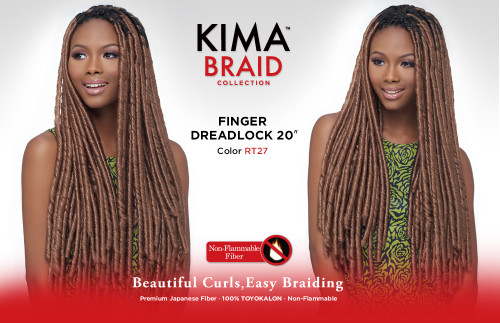 Harlem125 Kima Braid Finger Dreadlock 20""