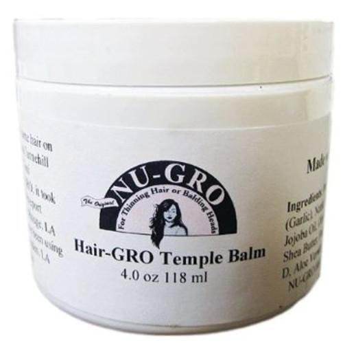 Nu Gro  Hair Gro Temple Balm- 4oz