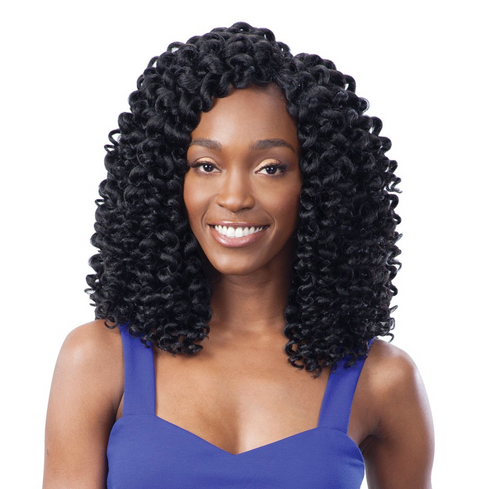 Shake N Go FreeTress 2X Wand Curl Braid Collection- RINGLET WAND CURL