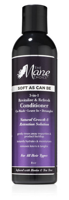 The Mane Choice- Soft As Can Be 3-In-1 Revitalize & Refresh Conditioner- 8oz