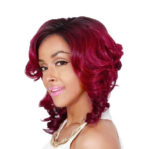 Sister Wig Angled Style A-Line Cut Synthetic Wig- A LINE-H- MIKA