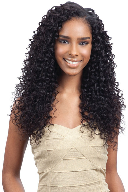 Saga Naked Brazilian Virgin Remy Hair Weave DeepWave 7pcs 18+20+22