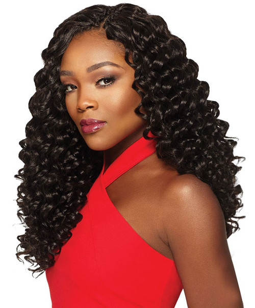 "Xpression Deep Twist 14"" 4-in-1 Crochet"