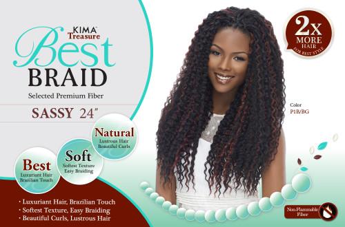 """Harlem 125 Kima Treasure Best Braid Sassy 24"""""""