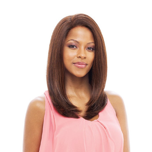 Vanessa HONEY 88 Brazilian Human Hair Blend Whole Lace Front All Handtied Wig