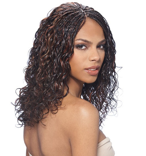 MODEL MODEL 100% HUMAN HAIR BRAID ITALIAN PERM BULK 18""