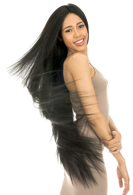 New Born Free Human Hair Blend Magic Lace U-Shape Lace Front Wig 100