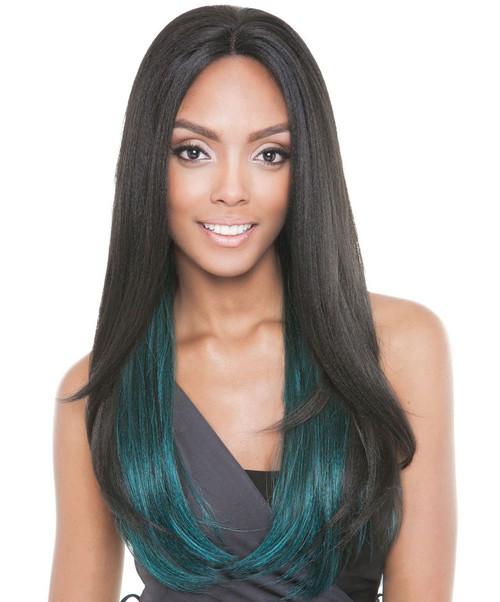 Isis Brown Sugar French Stretch Lace Human Hair Mix Lace Front Wig BS703 STARLIGHT
