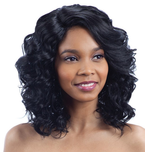 Model Model Deep Invisible L Part Lace Front Wig FLASH MEADOW