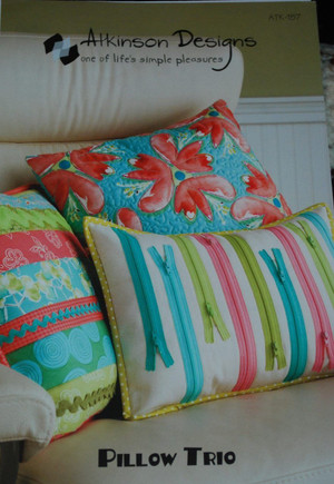 Pillow Trio Pattern Atkinson Designs