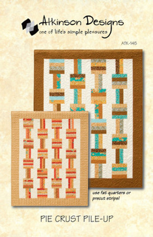Pie Crust Pile Up Quilt Pattern by Atkinson Designs
