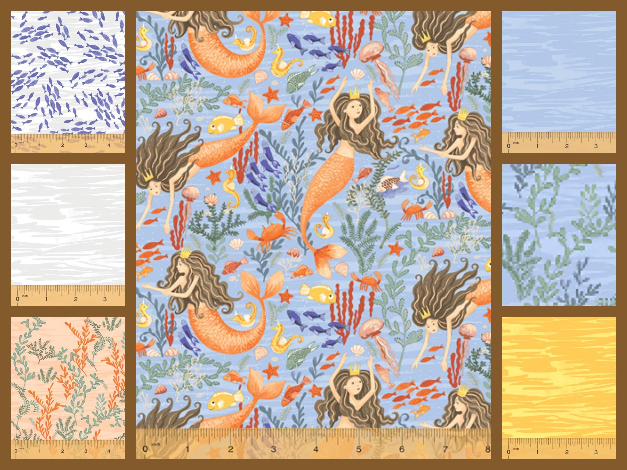 Mermaids Fabrics