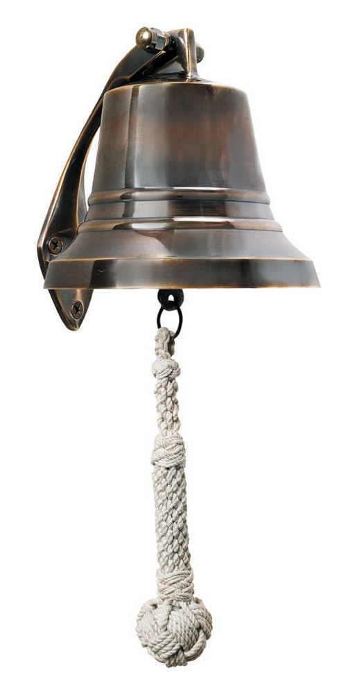 Authentic Models Bronze Ship's Bell 6 Inch
