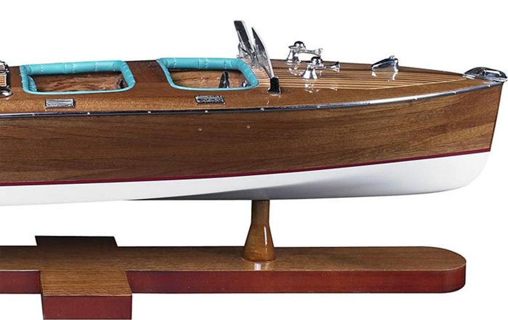 Authentic Models Triple Cockpit Speedboat