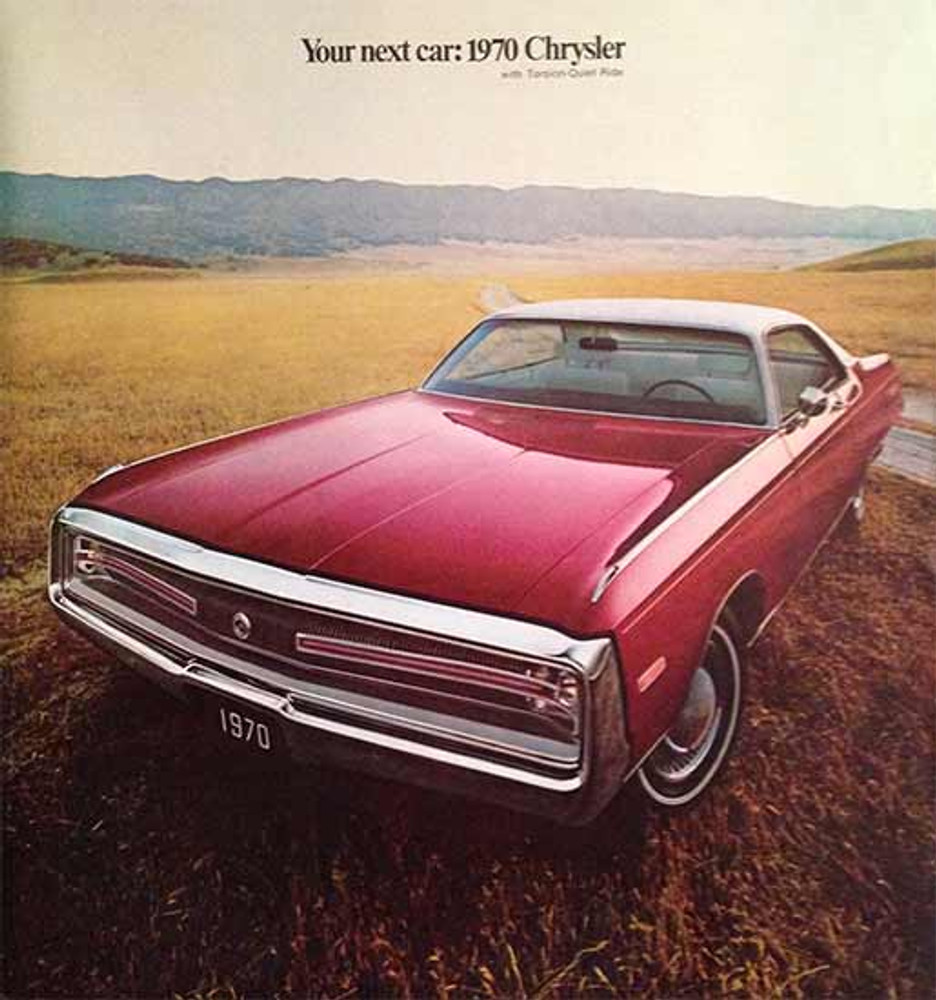 1970 Chrysler Full Line Dealer 36-Page Color Catalog