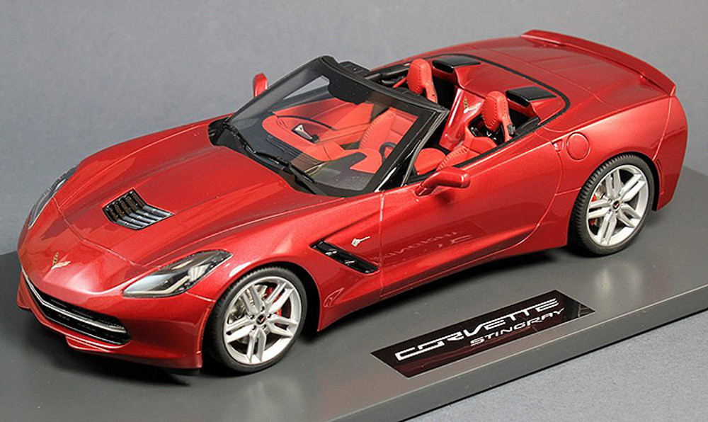 BBR Models 2014 Corvette Stingray C7, Cristal Red