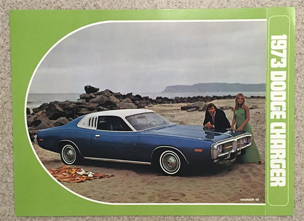 1973 Dodge Charger Dealer Brochure