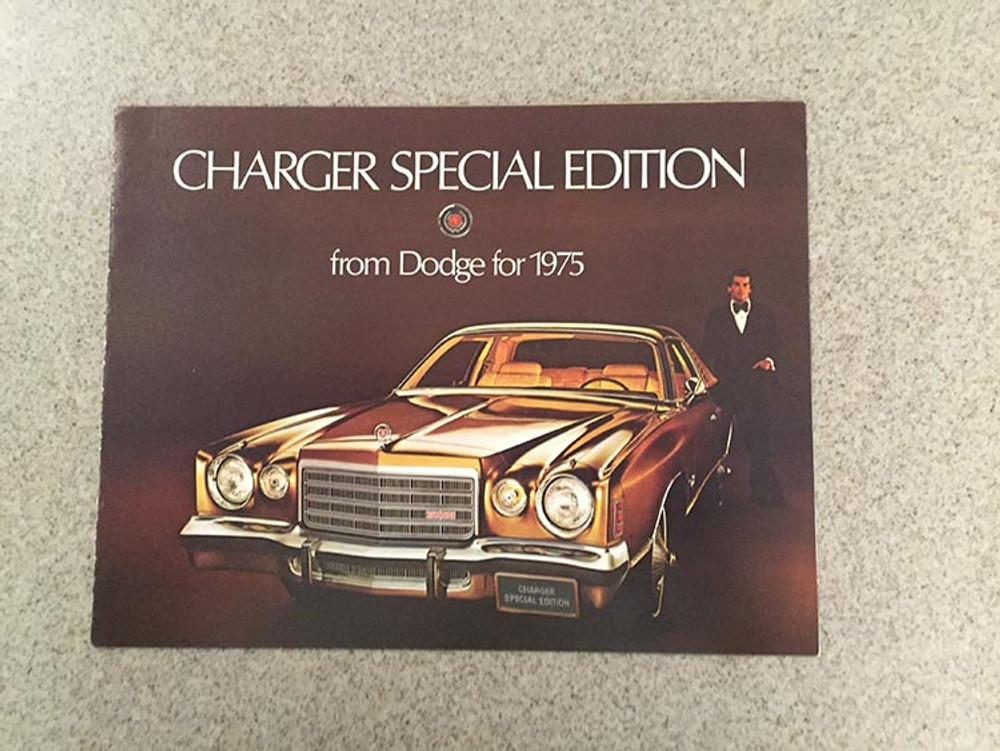 1975 Dodge Charger Special Edition Original Brochure