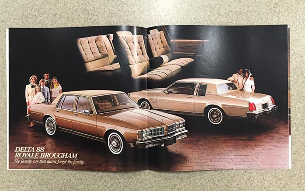 1981 Oldsmobile Toronado Ninety-Eight Delta 88 Original Brochure