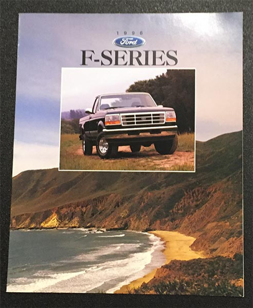 1996 Ford F-Series Original Truck Brochure