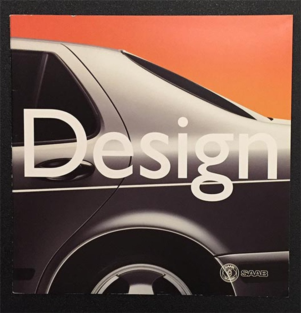 1999 Saab Design Original Brochure