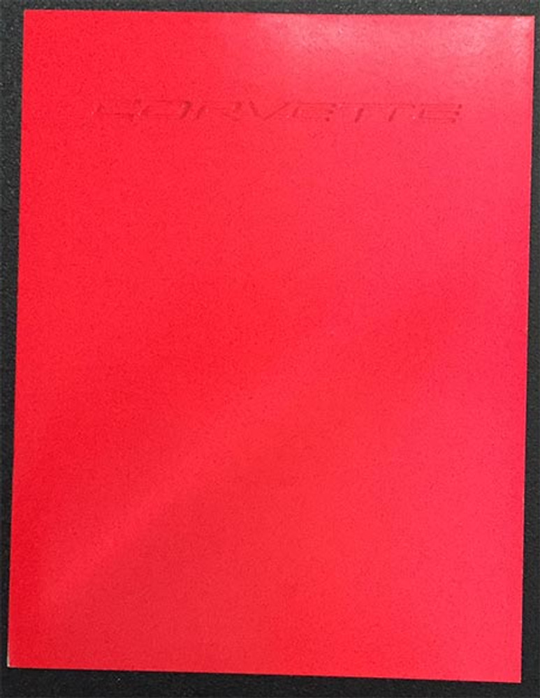 1998 Chevrolet Corvette Original Dealer Brochure