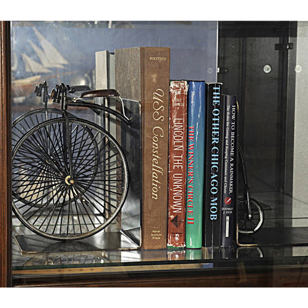 1870 The High Wheeler Bookend