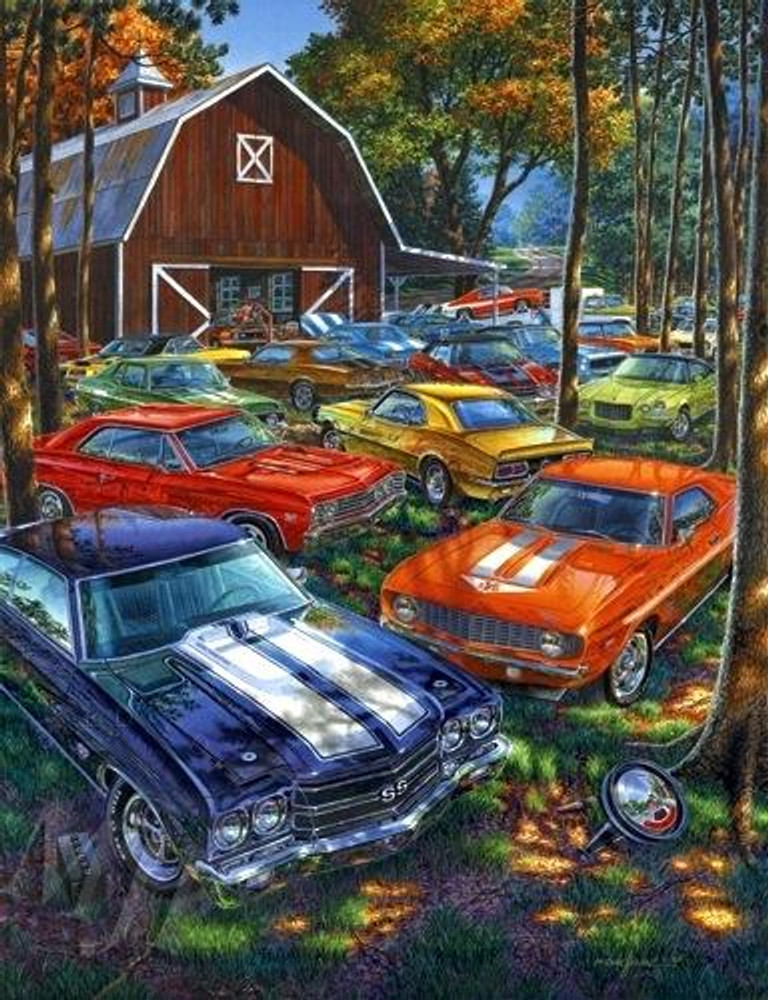 Always Room For One More By Michael Irvine Studios Print