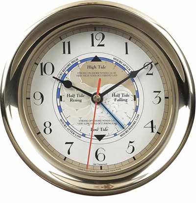 Authentic Models Captain's Time and Tide Clock