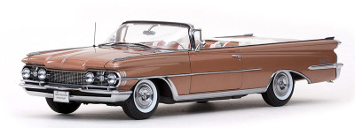 1959 Oldsmobile 98 Open Convertible Bronze Mist Metallic