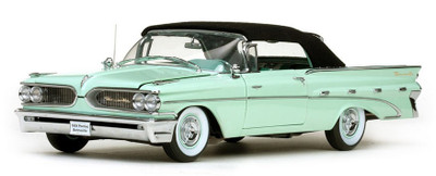 1959 Pontiac Bonneville Closed Convertible Seaspray Green