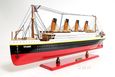 Titanic Large Version Ocean Liner Painted