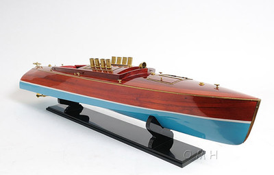 Dixie II Motor Boat Model