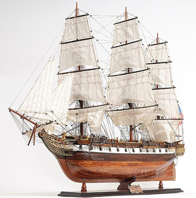 USS Constellation Ship Model