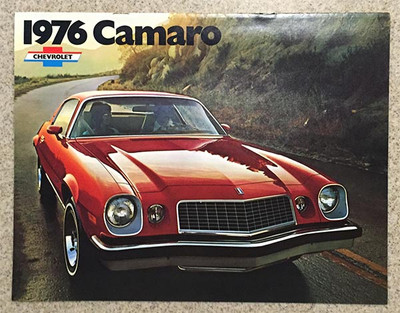 1976 Chevrolet Camaro Dealer Brochure