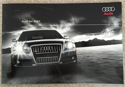 2007 Audi Full Line Dealer Brochure