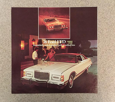 1976 Ford LTD Original Brochure