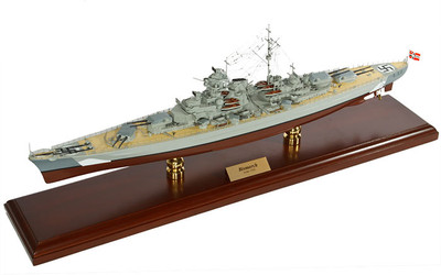 Bismarck Battleship Model Replica