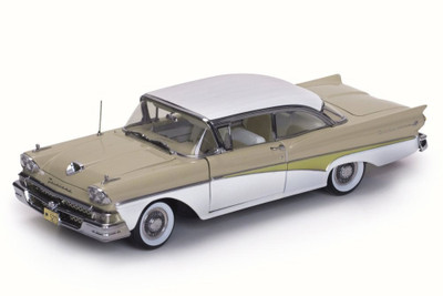1958 Ford Fairlane 500 Hard Top Colonial White 5273