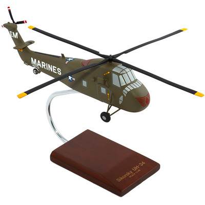 UH-34D Seahorse USMC Helicopter Model