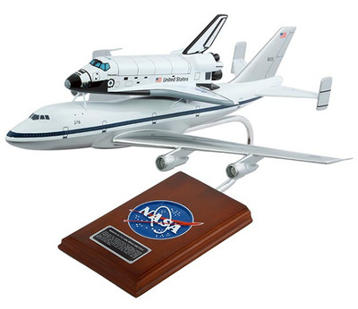 NASA B747 with Space Shuttle 1/144 Scale